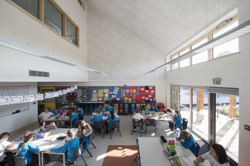 Reducing Noise in the First Welsh Passivhaus School