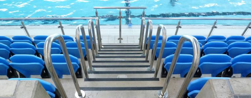 Grimsby Leisure Centre Swimming Pool Spectator Seating