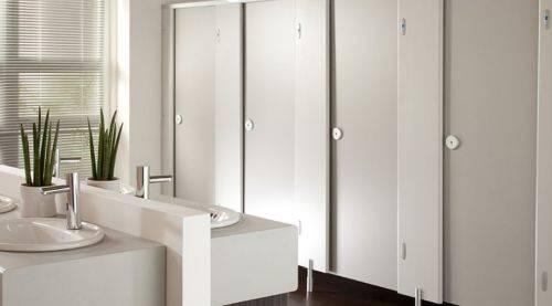 Grampian® HPL Toilet Cubicles