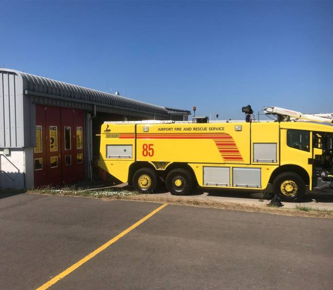Guernsey Airport Fire Station