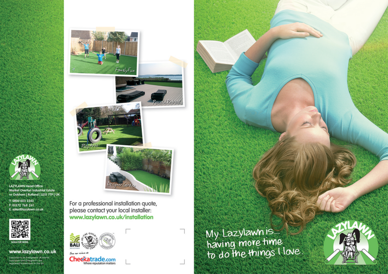 LazyLawn - Artificial Grass Brochure