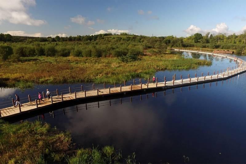 Non-Slip Decking | Waterways Ireland Lake Boardwalk
