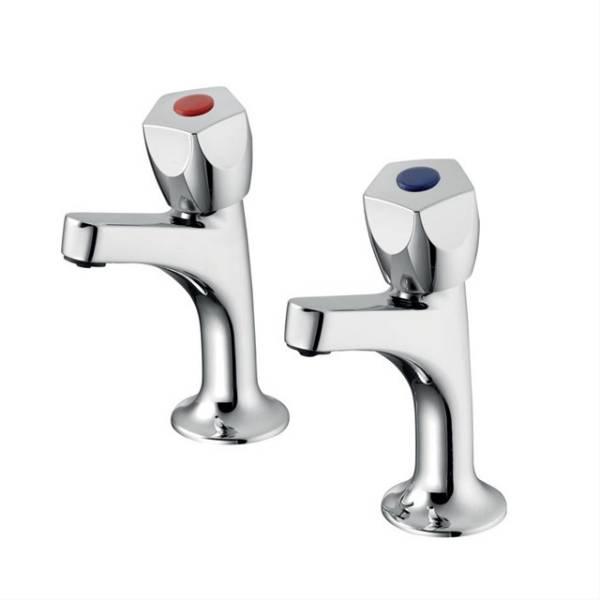 Sandringham 21 Sink Pillar Taps