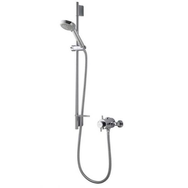 Aspire DL exposed mixer shower with adjustable head