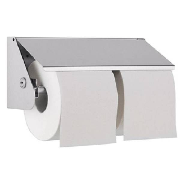 DP2109 Dolphin Prestige Double Toilet Roll Holder