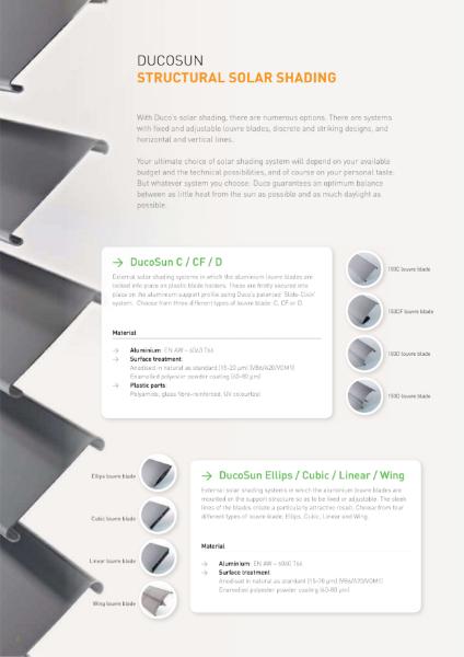 DucoSun Architectural Solar Shading & Brise Soleil