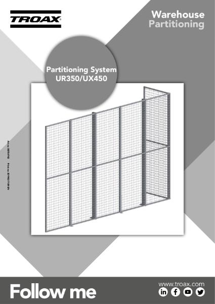 Troax UK - UR350 / UX450 - Assembly Instructions