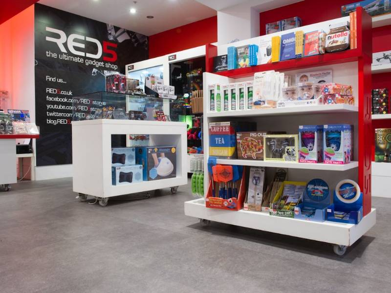 Polyflor's Expona Design flooring brings style to RED5 Gadget Shop