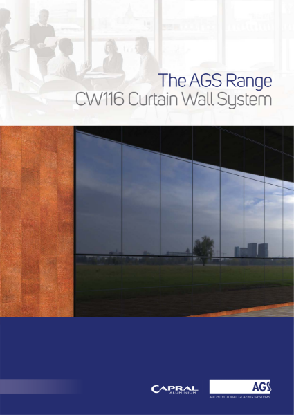 The AGS Range: CW116 Curtain Wall System