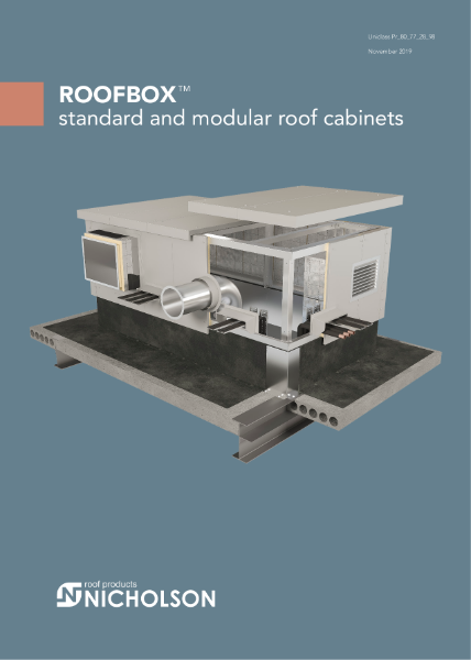 ROOFBOX Standard and modular roof cabinets