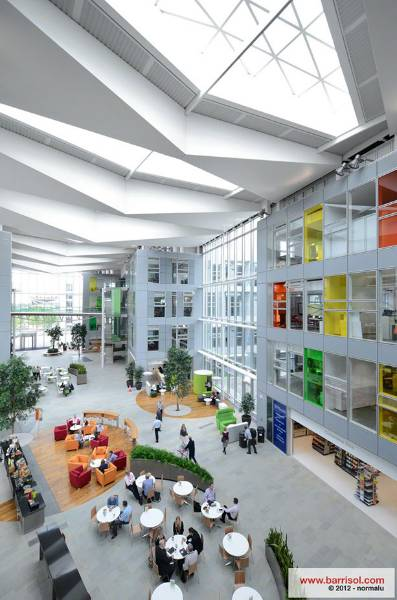 Barrisol Acoustics® - Network Rail Headquarter - United Kingdom
