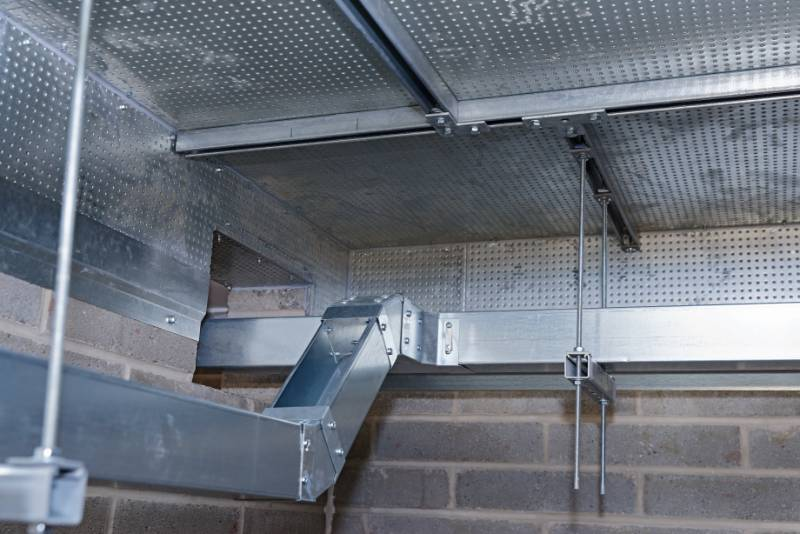 Manchester Airport Case Study - PROMAT DURASTEEL to create 60-minute fire-rated ceiling