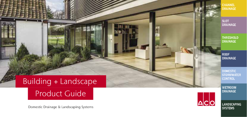 ACO Building + Landscape Product Guide