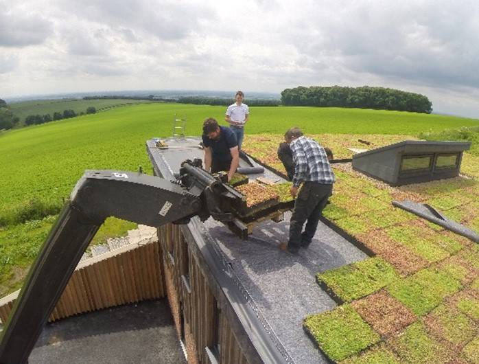 M-Tray® Instant Green Roof - Cattle Hill Quarry