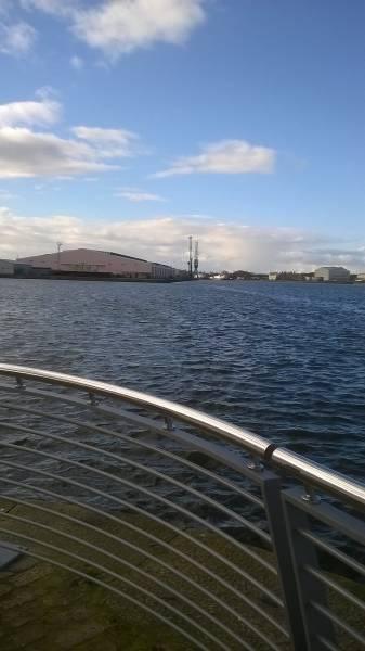 ASF Bespoke Waterfront Railings, Birkenhead