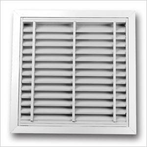 Fire Resistant Louvre Grille 465