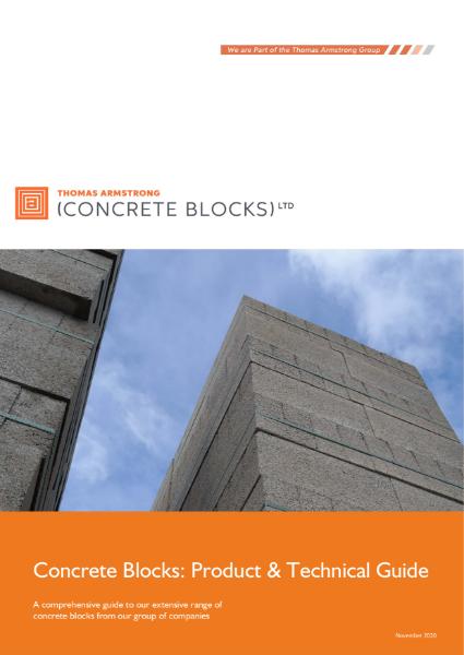 Concrete Blocks Brochure