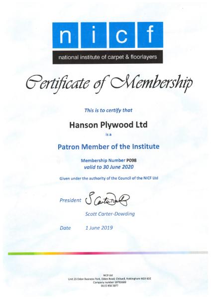 NICF Membership