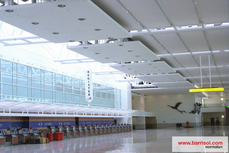 Barrisol Acoustics® - Baltimore Airport - USA
