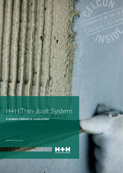 H+H Thin-Joint System -  A Modern Method of Construction