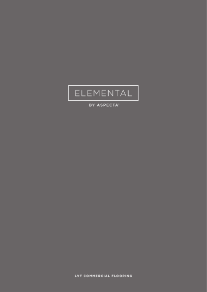 Aspecta Elemental brochure