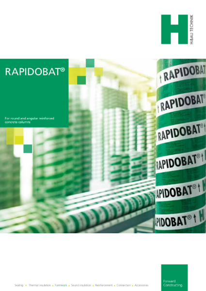 RAPIDOBAT Column Formwork for Architectural Finishes