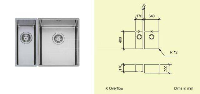 Sink Bowl K1734