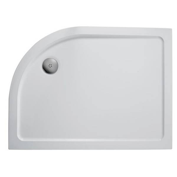 Simplicity Low Profile Offset Quadrant Flat Top Shower Tray