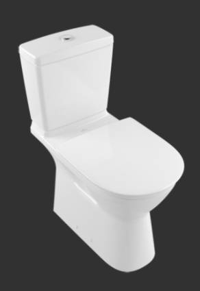 ViCare Washdown WC for Close-coupled WC-suite, Horizontal Outlet 4620R0