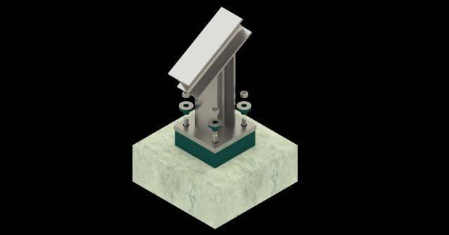 Steelwork Isolation System – Farrat CineSTEEL MAX