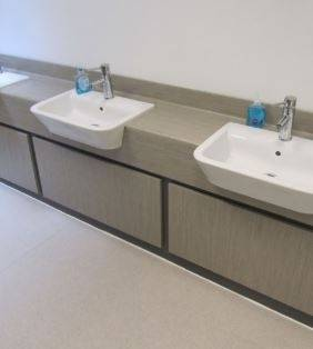 Nu-Lam Vanity With Access Panels