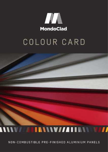 MondoClad Colour Card