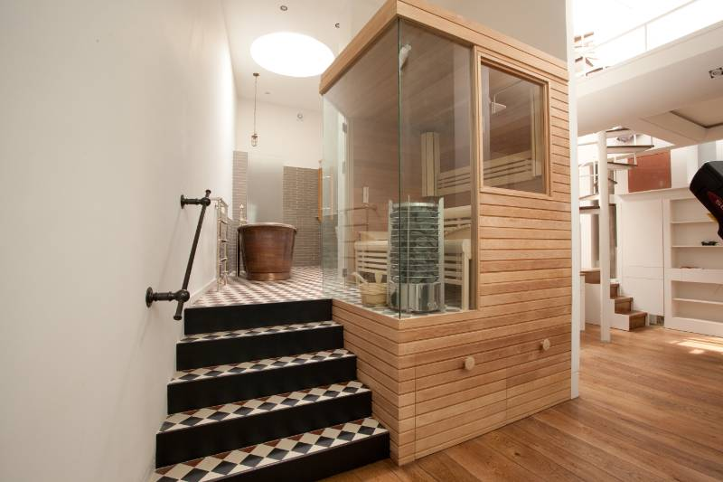 Residential Sauna and Steam Suite A