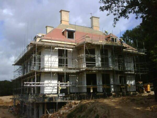 Kings Copse : ECOSCREED Thermal M13 TF