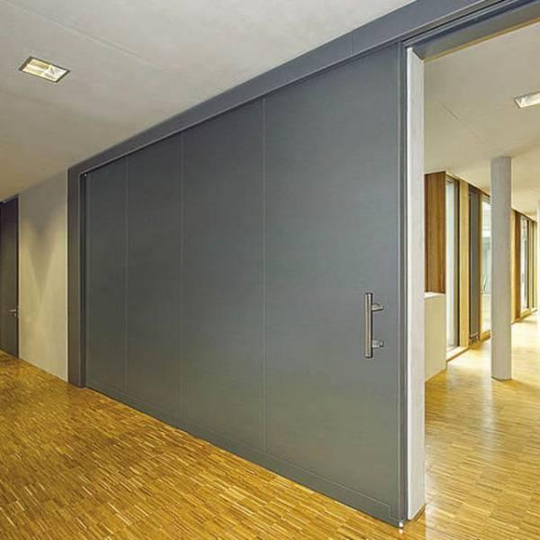 Fire Resistant Sliding Steel Doors