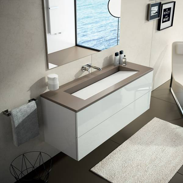 Bathroom Washbasins Silence Silestone®