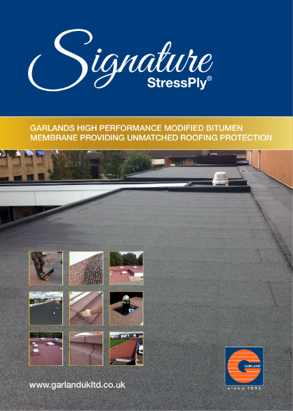 StressPly Signature Modified Bitumen Waterproofing Membrane - Garland