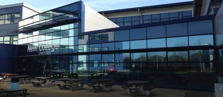 Solar Control Film for New College Swindon