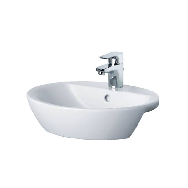 Santorini Ellipse Semi-countertop Washbasin