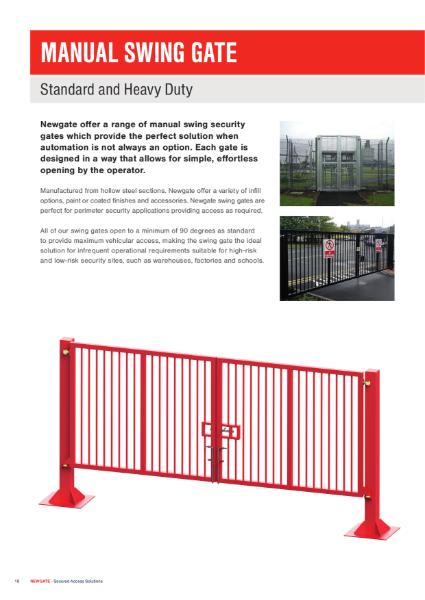 Manual Swing Gates