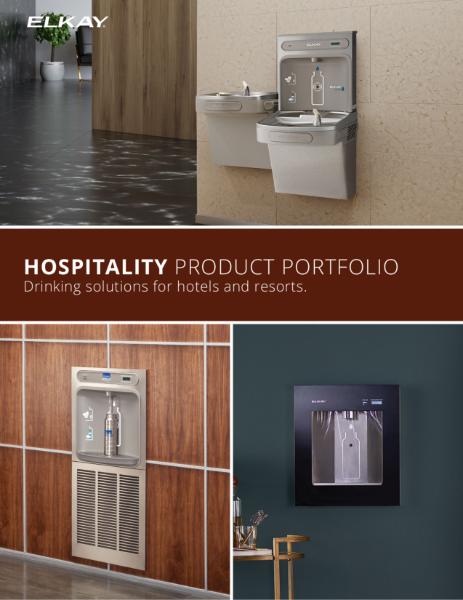 Elkay Hospitality Product Portfolio
