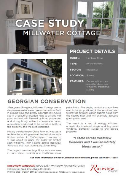 Heritage Rose - Millwater Cottage