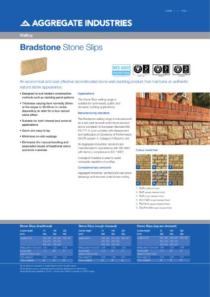 Bradstone Stone Slips
