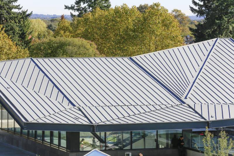 VMZINC Standing Seam Roofing - Compact Roof (Warm, Non-vented)