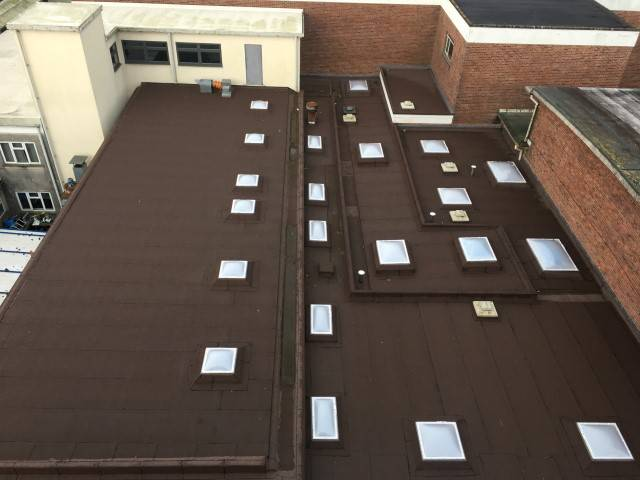 A Schools New Thermal Efficient Roof Replacement