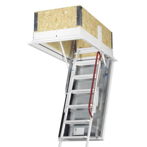 120 minutes fire protection - Isotec loft ladder