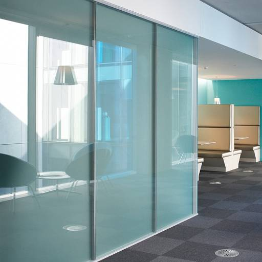 Optima 217 Plus Double Glazed Partition