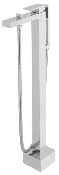 Notion Floor Standing Bath Shower Mixer + Shower Kit