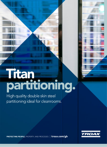 Troax Lee Commercial Partitioning - Titan