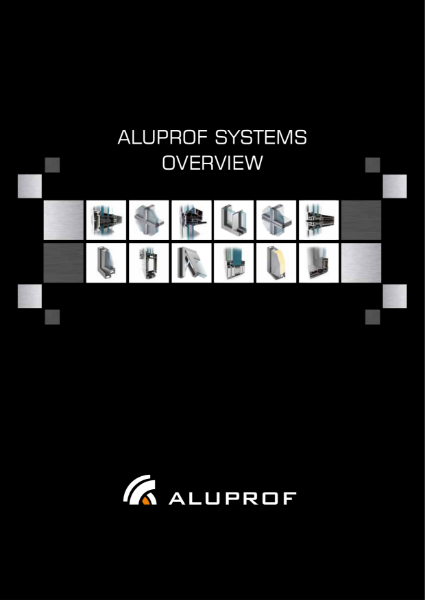 Aluprof Systems Overview